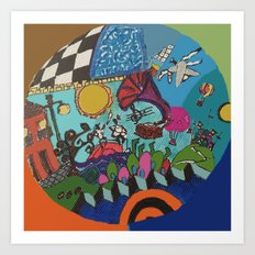 Canica 4 Art Print
