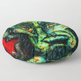 FrankenAbe Floor Pillow