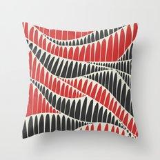 Sahara Desert in pastel colours 3 Throw Pillow