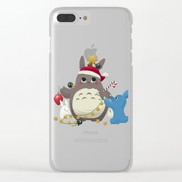 Toto Tree Clear iPhone Case