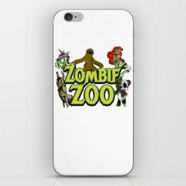 Halloween Zombie Panda Sloth Mermaid Llama Unicorn Light iPhone Skin