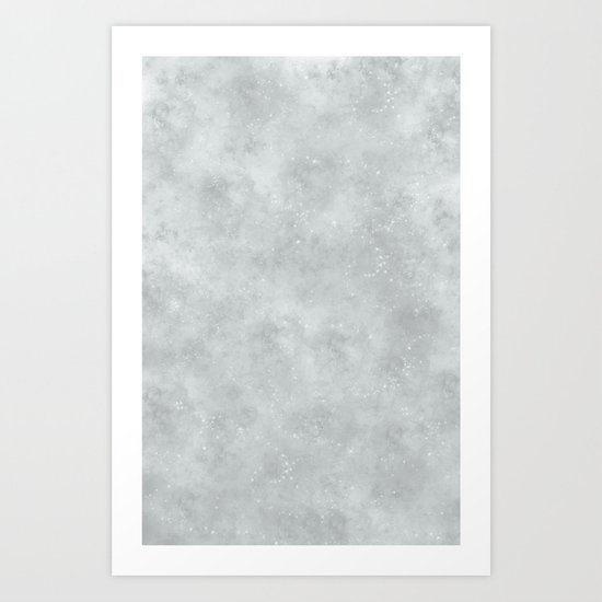 Moon Surface Art Print