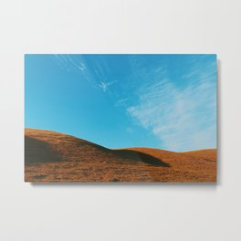 Hills & Sky Metal Print
