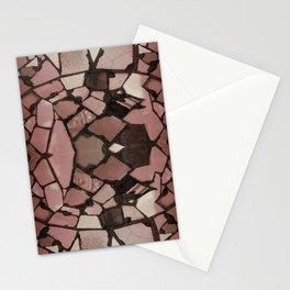 Mosaic - Rose Quartz Stationery Cards