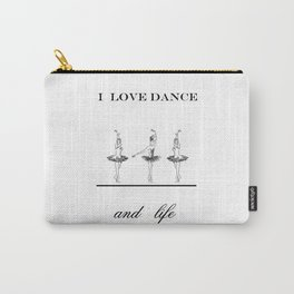 I love dence Carry-All Pouch