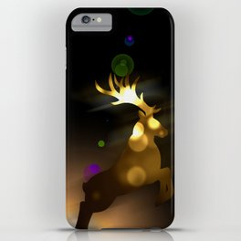 Jump of Gold iPhone Case