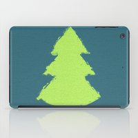 christmas tree iPad Cases featuring (Christmas) Tree by Mr and Mrs Quirynen