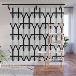 Hana and Wind logo's collection - pattern n1 Wall Mural