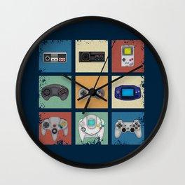 Gaming Generations Wall Clock