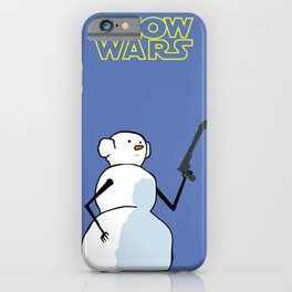 LEILA SNOW WARS iPhone Case