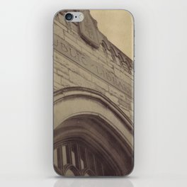 Public Library iPhone Skin