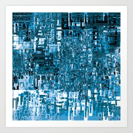 Circuitry Abstract Art Print