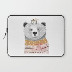 Mr. Bear Laptop Sleeve