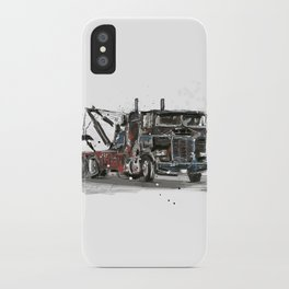 Tow-truck iPhone Case