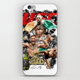 Conor McGregor - UFC Champ - Proper Twelve - Mystic Mc - The Notorious - MMA Art iPhone Skin