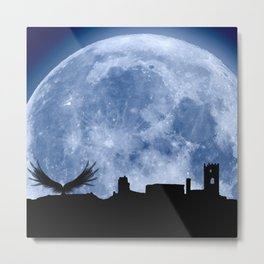 Tribute to the first flying man (Diego Marín Aguilera) in history Metal Print