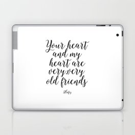 Printable Art,Hafiz Quote,Gift For Friend,Friendship,Wall Art,Quote Prints,Inspirational Quote Laptop & iPad Skin