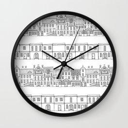Village Wall Clock