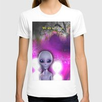 aliens T-shirts featuring Aliens by Aisling Rowland