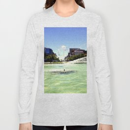 Victoria Square - Adelaide Long Sleeve T-shirt