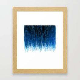 Icicles Framed Art Print