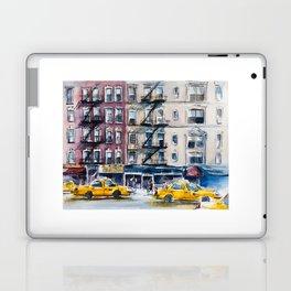 New York, wtercolor sketch Laptop & iPad Skin