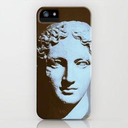 Head of a Goddess - photo iPhone Case