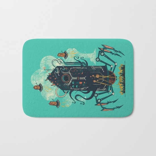 Not with a whimper but with a bang Bath Mat