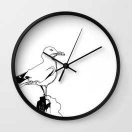 Surly Seagull Wall Clock