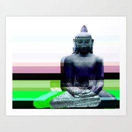 Buddha Variations 1 Art Print