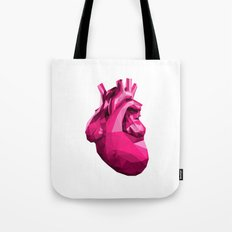 Heart - Pink Tote Bag
