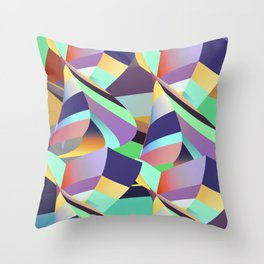 Mix of Possibility Throw Pillow