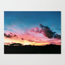 Stunning Sunse Canvas Print