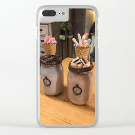 Chocolate shakes Clear iPhone Case