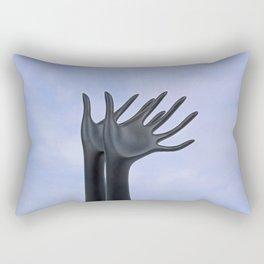 Flying Hands Rectangular Pillow