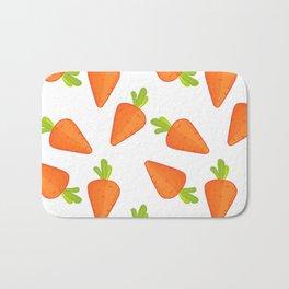 carrot pattern Bath Mat