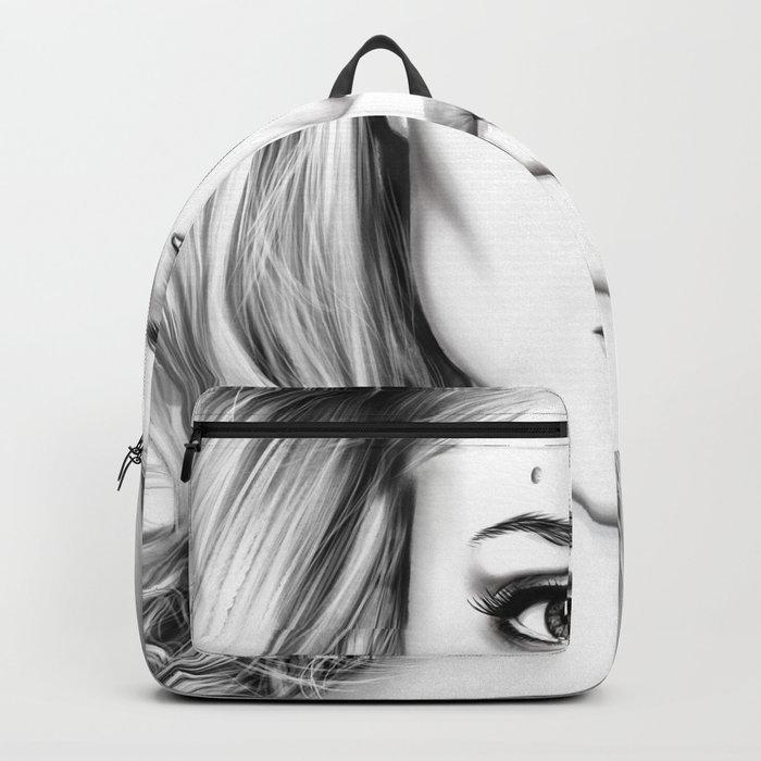 Angelina Jolie fanart Backpack