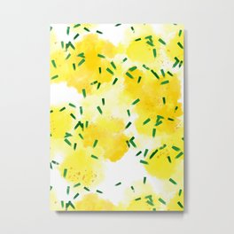 Lemons Explosion #society6 #lemons Metal Print