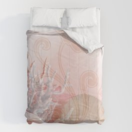 SEASHELL DREAMS | pink Comforters