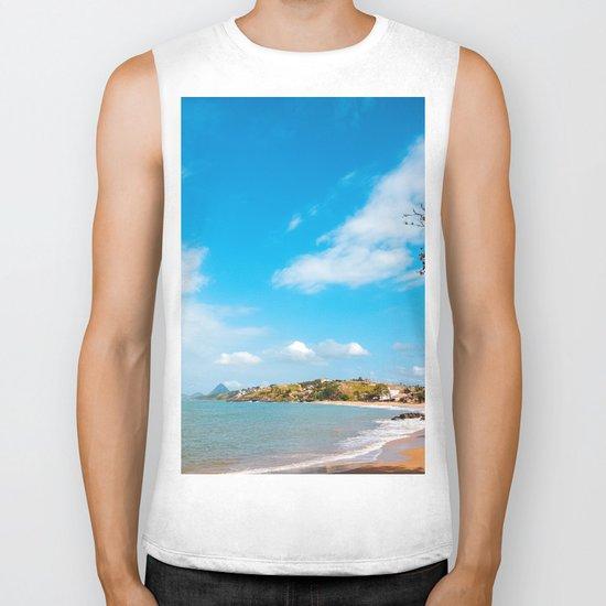 Landscape Recife Praia Biker Tank