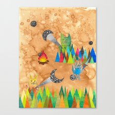 Shadow Puppets Canvas Print