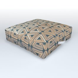 Sunset Hills Geometric Outdoor Floor Cushion