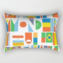 What A Wonderful World II Rectangular Pillow