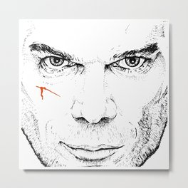 Dexter Slice of Life Metal Print