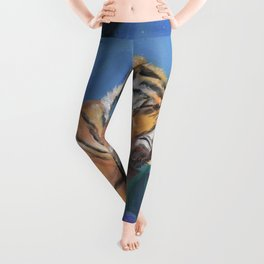 What Does the Tiger Dream? Leggings