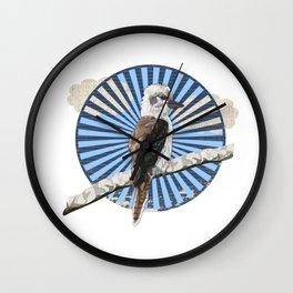 Kookaburra Wall Clock
