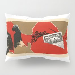 Belle Epoque vintage poster, Zlata Praha Pillow Sham