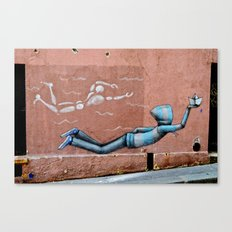 The Floating Man Canvas Print