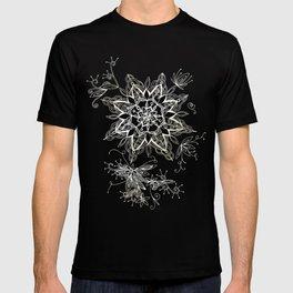 Zendala snowflake denim T-shirt