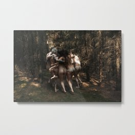 The kids Are all Wild Metal Print